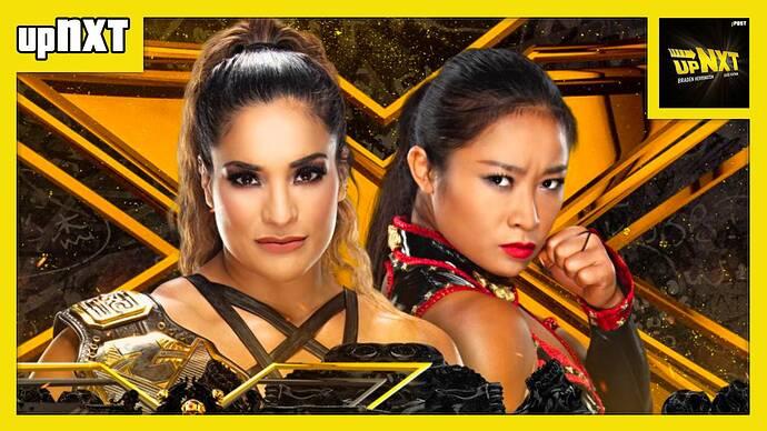 upNXT Raquel vs Xia